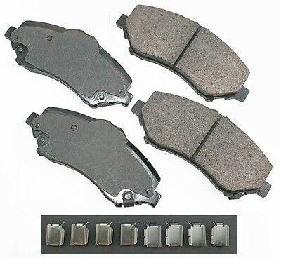 Bendix D997 Disc Brake Pad CQ Front fits 04-08 Chrysler Pacifica
