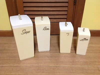 Set Of Vintage Capri Cannisters
