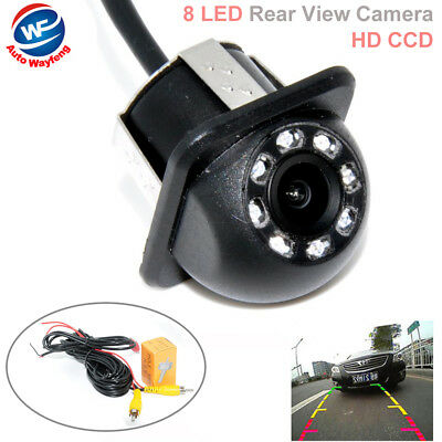 Rear View Monitors/cams & Kits Car Video Hard-Working Cmos Led Car Rear View Reverse Backup Camera Parking Night Vision Waterproof Elegant In Style