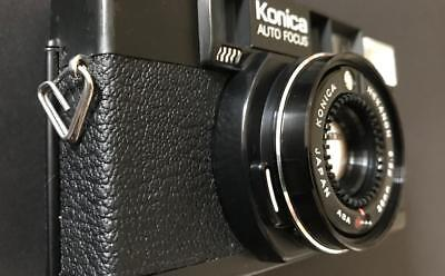 Konica C35 AF2  Rangefinder Camera with extra sharp   HEXANON f2,8/38mm lens