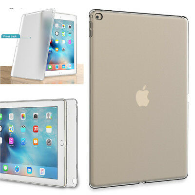 """Transparent Soft TPU Silicone Case Cover for Apple iPad 9.7"""" 2018/17 6th 5th Gen"""