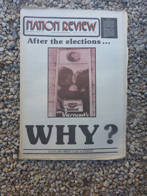 Vintage Aus Nation Review Newspaper. May 24 1974 - After The Election