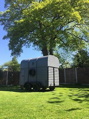 Converted Rice Horse Box Bar catering events van