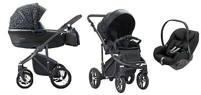BEBETTO Bresso 3in1 2018 Stoller Pushchair Sport seat FREE SHIPPING