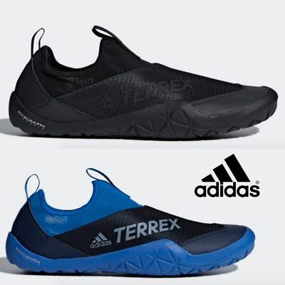 Adidas Terrex Climacool Jawpaw Slip On Shoes Sneaker Black Blue CM7531  CM7533 19e145729