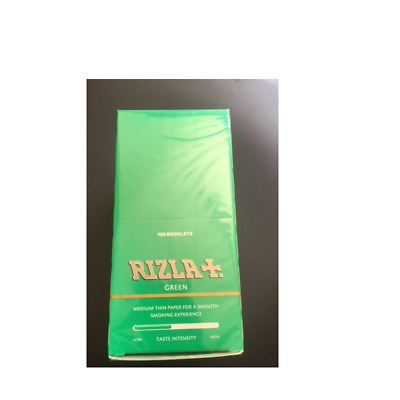 Original RIZLA Green Cigarette Rolling Papers Regular Size Multi Listing