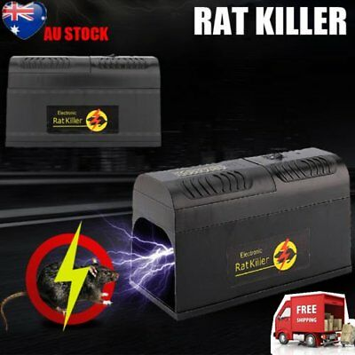 New Rodent Killer Electric Electronic Rat Mouse Mice Repellant Trap Au Stock Mg