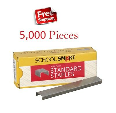 School Smart Used For All Standard Staples 210 Pins Per Strip - Totel 5000 pins