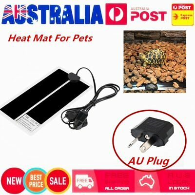 15*28CM Adjustable Temperature Reptile Heating Heater Mat Heating Pad For Pet WL