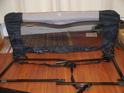 Babydan bed guard , for home plus foldable for travel, excellent condition