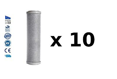 10x Reverse osmosis pre filters activated carbon block water filter replacements