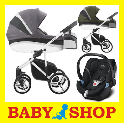 BEBETTO Murano 3in1 Stoller Pushchair Sport seat FREE SHIPPING