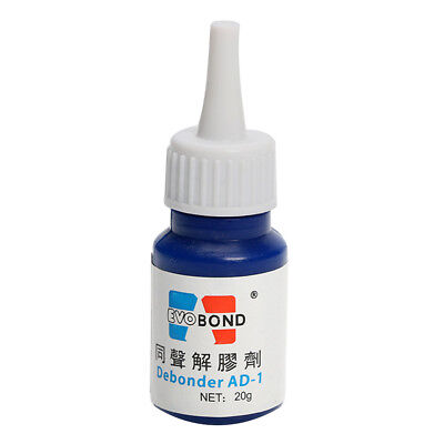 20g UV Super Glue Remover Adhesive Cleaner Cleaning Tool Refurbish LCD Glass