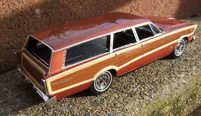 1966 Ford Country Squire  Station Wagon Pro Built  resin Galaxie