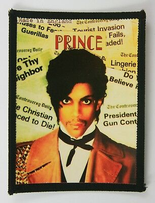 PRINCE 'Headlines Collage' Vintage Sew-on Photo Patch