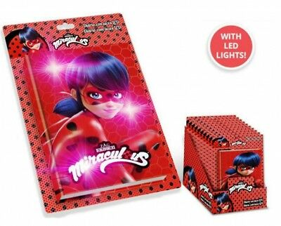 Miraculous Ladybug Diario Con Luci Led Diary With Led Lights Originale