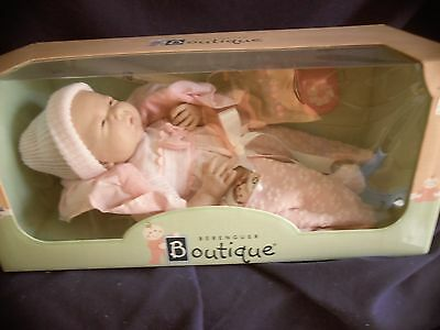 "Berenguer Boutique La Newborn 15.5"" soft body made in Spain jc toys MINT  2+yrs"