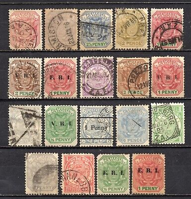 Transvall nice mixed collection,stamps as per scan(4616)