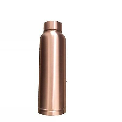 SECONDS, Pure Copper Hammered Water Bottle for health benefits.
