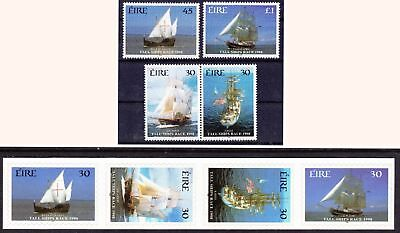 IRELAND 1998 Tall Ships Race - Gummed & Self-adhesive values - (40)