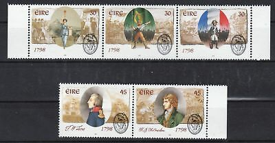 IRELAND 1998 Anniversary of the 1798 Uprising - Two MNH strips - (51)