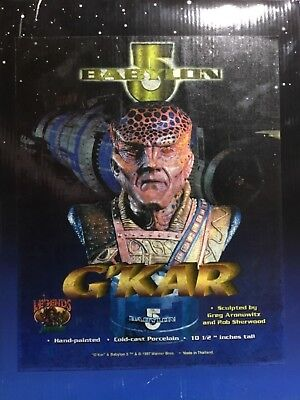 Babylon 5 Ambassador G'Kar Legends in 3 dimensions