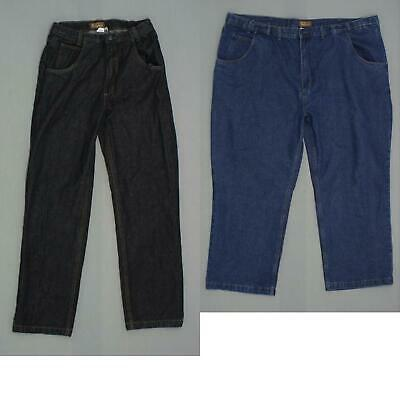 new Haband Mens Tailgater Fit-Forever Denim Jeans Pants