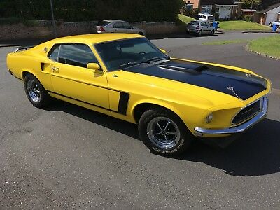 1969 69 Ford Mustang 302 Fastback, Auto, Yellow, Immaculate Condition
