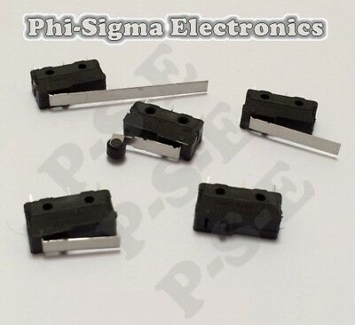 General Purpose Miniature V4 Microswitch (Micro Switch) : Various Types