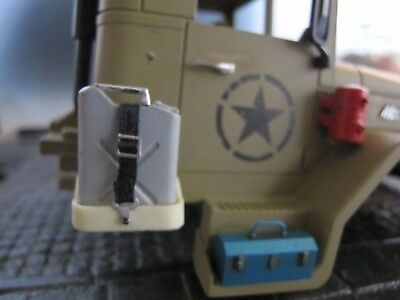 USA Army 20L Benzin Kanister Halter HENG LONG M35A2 LKW 1/16 RC Military Truck