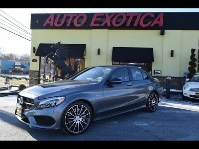 C-Class AMG C43 AWD 2017 Mercedes-Benz AMG C 43 Automatic 4-Door Sedan PREMIUM 3 SELENITE GREY