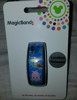 NEW Disney Parks EPCOT The Seas With Nemo & Friends Magic Band 2 LIMITED RELEASE