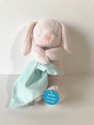 Carters Musical Bunny (Go To Sleep Song) Pink New With Tags