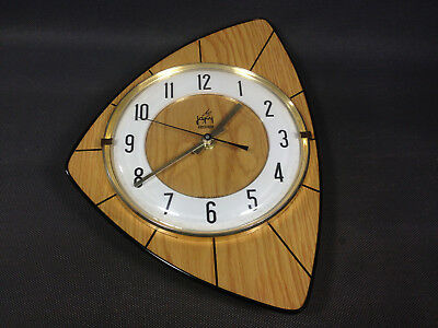 antique wall clock electric JAPY vintage deco kitchen french antique