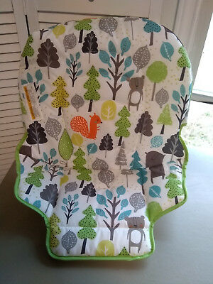 NEW Authentic Graco Simple Switch Seat Pad High Chair Cushion Replacement Bear