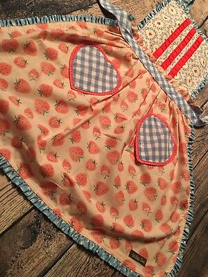 Matilda Jane Womens Hearts & Crafts Apron NWT