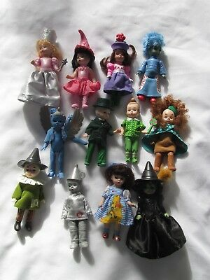 2007 2008 Madame Alexander Wizard Of Oz Set 12 Dolls Mcdonalds
