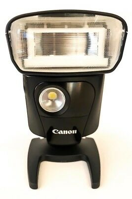 Canon Speedlite 320EX Flash with original stand and soft-case
