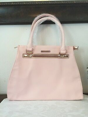 JUICY COUTURE for Women Pink   Gold Tote Shopping Bag Large Purse Handbag 2492a5c624