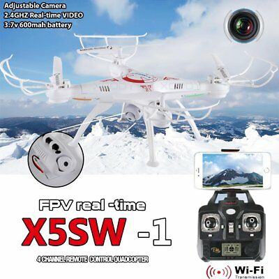 Xmass White X5SW-1 Wifi FPV 2.4Ghz 4CH RC Camera Drone with 0.3MP Quadcopter RTF