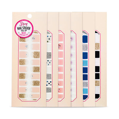 [ETUDE HOUSE] Play Nail Sticker Full Tip - 1pcs