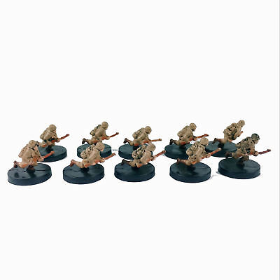 10pcs Axis & Allies Miniatures Counter Offensive #19 Miltary Collection