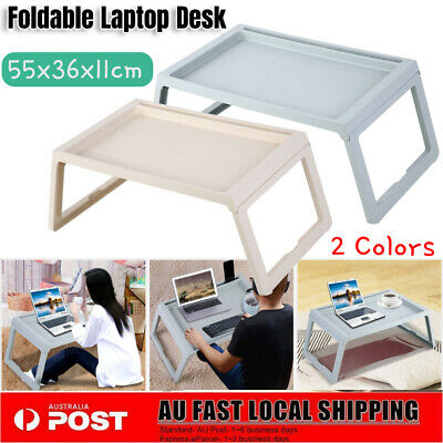 Foldable Breakfast Serving Serve Bed Tray Table For iPad iPhone Laptop PC Holder
