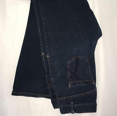 Lane Bryant sz 16 Avg Dark Blue Wash Boot Cut Stretch Womens Jeans Pant