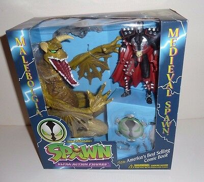 Medieval Spawn vs Malebolgia - Limited Edition Action Figure Set - New in Box!