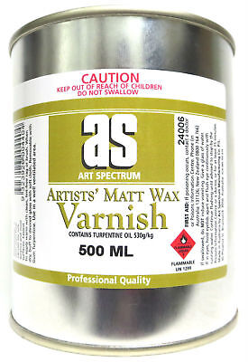Art Spectrum Artists' Matt Wax Varnish 500ml