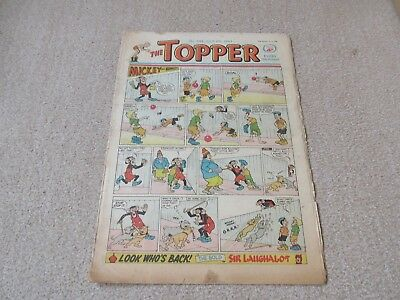 "Topper comic,No 544- July 6th 1963- - Fair Condition "" Young Hammerfist """