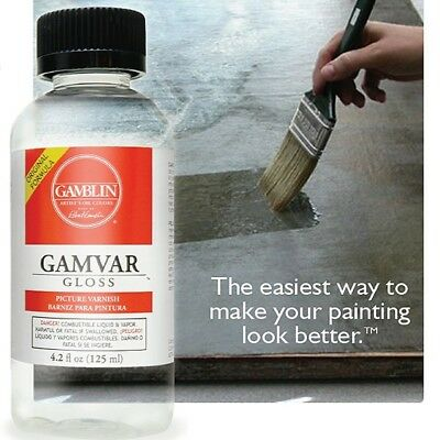 Gamblin Gamvar Picture Varnish (Gloss, Matte)