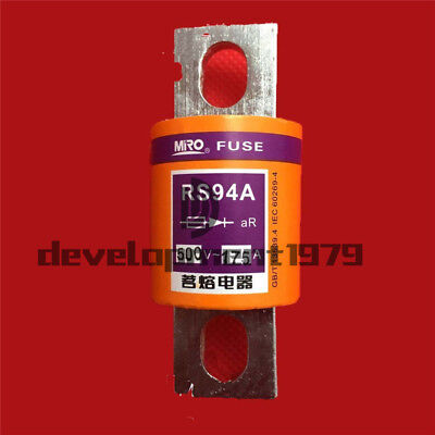 Miro RS94G 400A Fast Acting Tube Bolts Fuse 500V 400A