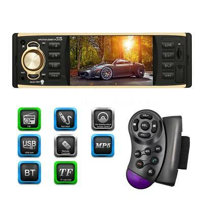 """4.1"""" Single Din Car Stereo Radio In-dash Video MP5 Player USB AUX Bluetooth"""